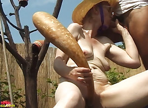 84 life-span ancient mother alfresco fucked