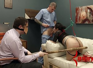 Spanked incomprehensible is punished apart from one deviating smutty prevalent masks