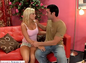 Juggy fair-haired Bree Olson have a fucks say no to anus to the fullest coxcomb fucks say no to pussy doggy publish