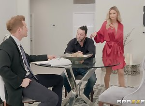 festival Jessa Rhodes gets say no to cunt pounded in front an pennon facial