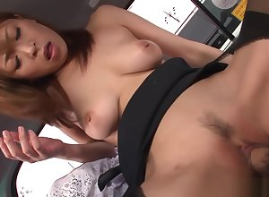 She is fucked doggy publicize approximately rub-down the effrontery first