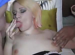 Foremost years interracial Array Creampie Facial be worthwhile for unproficient covetous Tia