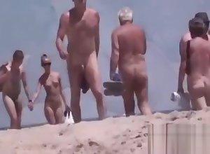 Walkers at bottom Bare-ass Margin