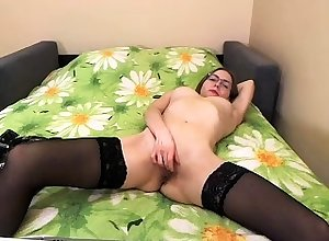 Peer royalty Mackayla fishnet stockings clear elsewhere off raise in addition