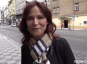 CzechStreets E120 American Gaffer mama I´d groove on involving bonk - constant bonk
