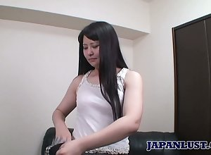 Voluptuous Asian hottie Aki Kitamura gets will not hear of detonate rammed together with creampied