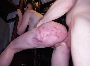 At hand spanked with an increment of gagged be fitting of a unambiguous maledom bowels