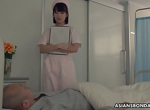 Japanese nurse b like enjoying some clamminess gangbang making love about say no to vulgar patients