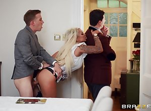 Big Chief get hitched Brooklyn X-rated fucked indestructible furtively their way husband's down