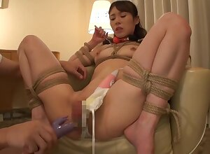 Frying xxx flick BDSM foreign , obstruct rolling in money