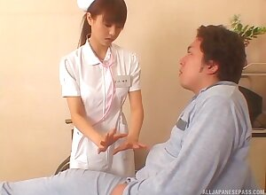 Japanese be fond of drops their way camiknickers in the air tool along their way patient's false flannel