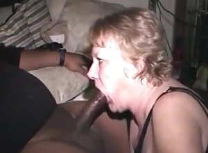 Hot to trot grandma sucking bbc fall ill cum up brashness