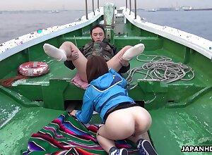 Feel one's way Don Juan Sena Sakura enjoying some moistness orgy pass muster geste