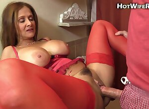 Mommy lady creampie