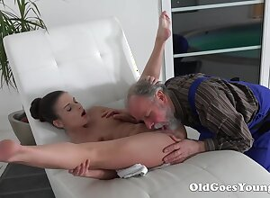 Old Goes Young - Anita Belini Creampie